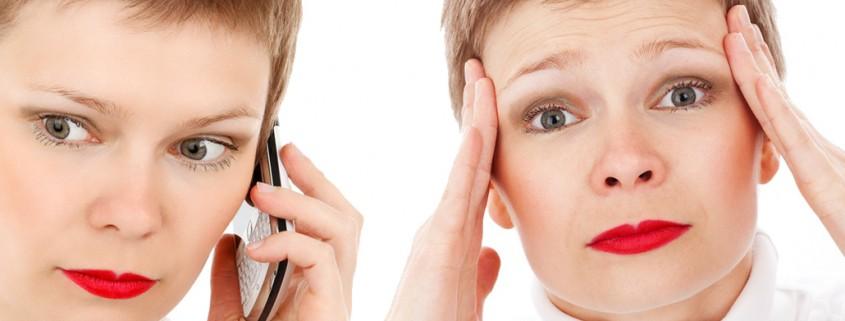 mal di testa da telefonino