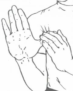 Flessibilità del pollice