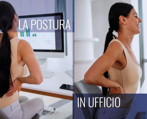 postura in ufficio
